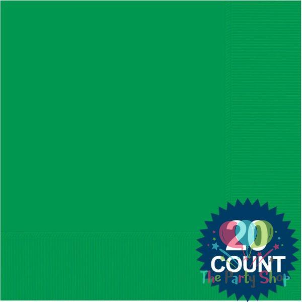 Dark Green Tissue Paper Party Napkins Beverage Lunch Events And Party Tissue Napkins 20pcs For Wedding Baby Birthday Home Decoration Party Supplies