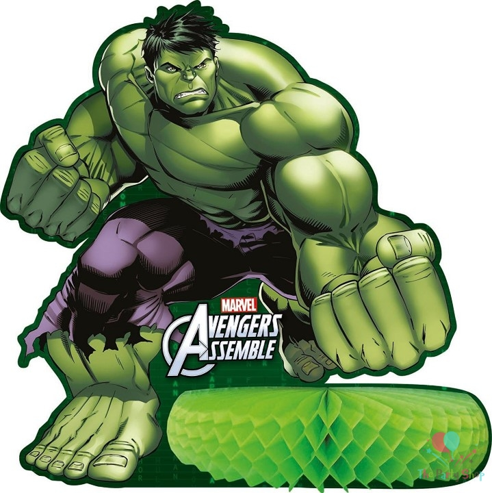 Avengers Assemble Multi Heroes Party The Hulk Table Centerpiece