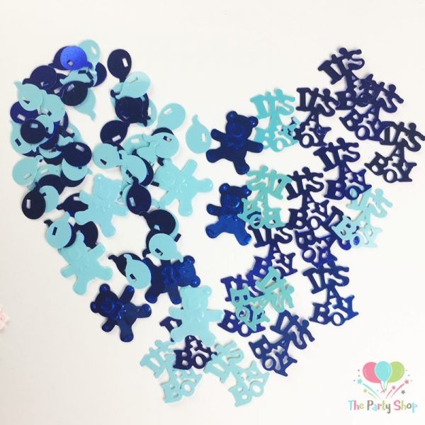 ITS A GIRL CONFETTI TABLE DECORATION ART /& CRAFT