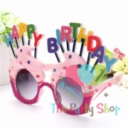 Happy Birthday Cupcake Shaped Glasses Eyeglasses Party Favors Costume Novelty Sunglasses Photo Props Gifts