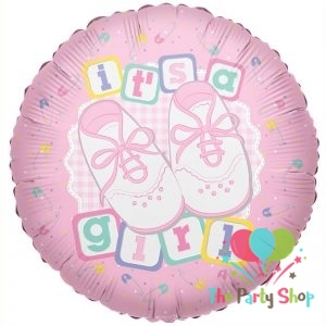 18″ Baby – Its A Girl Shoes