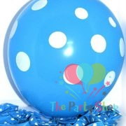 "10"" Polka Dot Sky Blue Light Blue Latex Balloons Birthday Party Balloons Wedding Decoration"
