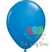 10″ Standard Dark Blue Solid Color Latex Balloons Birthday Party Balloons Wedding Decoration (25 Piece)
