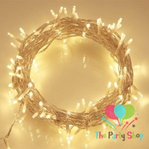 Golden String Fairy Lights Christmas Xmas Garland Decoration Wedding Festival Party Warm White 100 LED