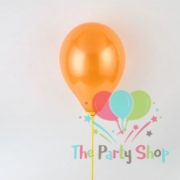 "10"" Pearl Glossy Orange Latex Balloons Birthday Party Festivals Balloons Wedding Decoration (25 Piece)"