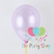 "10"" Pearl Glossy Purple Latex Balloons Birthday Party Festivals Balloons Wedding Decoration (25 Piece)"