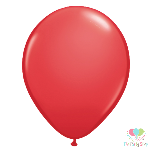 "10"" Standard Red Solid Color Latex Balloons Birthday Party Balloons Wedding Decoration (50 Piece)"