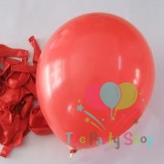 "10"" Standard Red Solid Color Latex Balloons Birthday Party Balloons Wedding Decoration (100 Piece)"