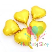 18 Inch Hearts Shaped Golden Foil Balloons Valentines Day Wedding Birthday Party Decorations Ornaments Supplies (5)