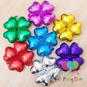 18 inch Heart Shape Clover Four Petals Foil Balloons Arches Column Bracket Wedding Birthday Party Decoration Celebration
