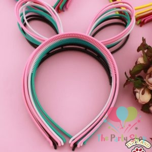Plastic Rabbit Bunny Ears Design Girls Headbands Hairbands Bows for Girls Teens Hair band Children Party