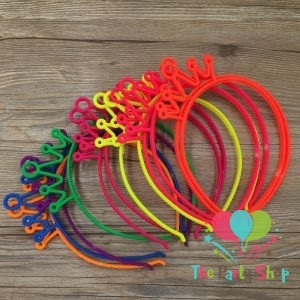 Mix Color Plastic Crown Headbands Hairband Tiaras Girl's Princess Design Hair band Girls Hair Accessories