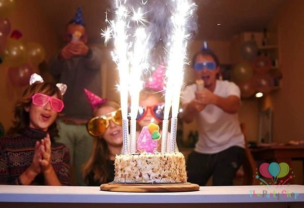 98 Birthday Sparkler Candles For Cakes