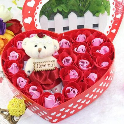gift-romantic-gift-set-bath-rose-flower-soap-with-floral-scent-with-cute-teddy-bear-special-present-valentines-day-wedding-party-favors-decor-dhaka-banglad (