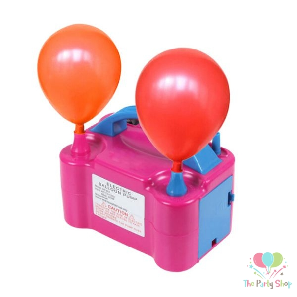 Electric Air Balloon Pump, Portable Two Nozzle Dual Inflator Balloon Pump Inflatable Balloons Air Blower 600W New High Power