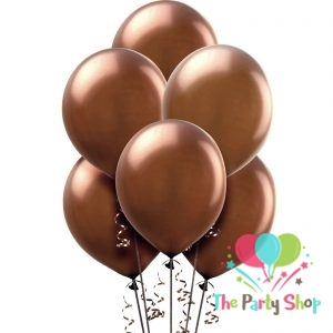 11″ Chocolate Brown Solid Thick Latex Balloons Birthday Party Festivals Balloons Wedding Decoration (50 Piece)