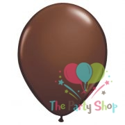 "11"" Chocolate Brown Solid Thick Latex Balloons Birthday Party Festivals Balloons Wedding Decoration"