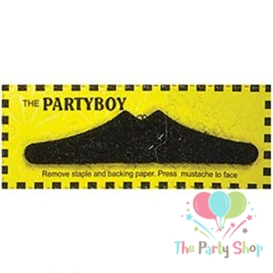 Partyboy Casanova Costume Novelty Fake Mustaches, Mustache Party Supplies, Self Adhesive Stache Tash Mustaches for Masquerade Party & Performance