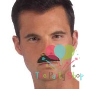 Smarty Novelty Fake Mustaches, Mustache Party Supplies, Self Adhesive Stache Mustaches for Masquerade Party & Performance