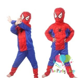 Spiderman Costumes Halloween Fancy Dress for Kids Age (1-16 Years Old) Years