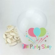 10″ Standard White Solid Color Latex Balloons Birthday Party Balloons Wedding Decoration (1)