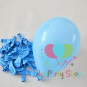 "10"" Standard Light Blue Solid Color Latex Balloons Birthday Party Balloons Wedding Decoration (25 Piece)"
