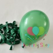 """10"""" Standard Green Solid Color Latex Balloons Birthday Party Balloons Wedding Decoration (100 Piece)"""