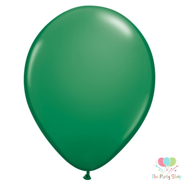 "10"" Standard Green Solid Color Latex Balloons Birthday Party Balloons Wedding Decoration (100 Piece)"