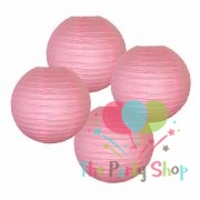 10 Inch Light Pink Paper Lanterns Chinese/Japanese Paper Hanging Decorations Ball Lanterns Lamps for Home Decor, Festival and Weddings (Copy)